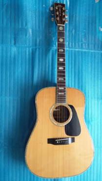 Bán guitar sản xuất Nhật hiệu Morris TF 810
