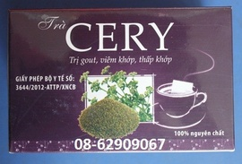Bán Sản phẩm Chữa tê thấp, chữa bệnh GOUT tốt-Trà CERY