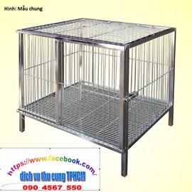 Chuồng chó inox giá rẻ TPHCM