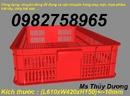 Tp. Hải Phòng: sọt nhựa giá rẻ, thung nhua gia re, thung nhua dac, thung nhua rong, ro nhua gia re CL1703025