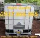 Thanh Hóa: thùng nhựa màu trắng 1khoi, téc nhựa 1000lit, tank nhựa cũ 1000lit CL1701287