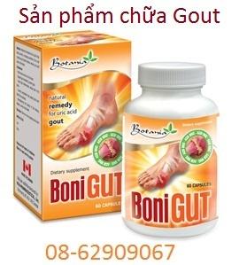 BONI GOUT= dùng để chữa bệnh GOUT tốt, giá rẻ