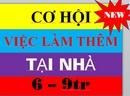 Tp. Hồ Chí Minh: cccViệc làm thêm tại nhà Lương cao 7-9tr/ th, làm tại nhà 2-3h/ ng uy tín tin cậy CL1702794