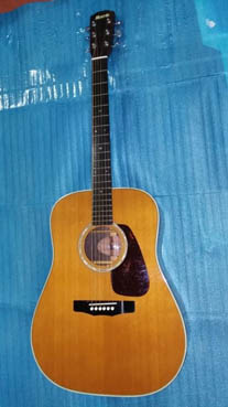 Bán guitar Nhật Morris M 60
