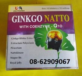 GINKGO NATTO-Giúp Tan máu đông, Tăng trí nhớ, phòng ngừa tai biến, đột quỵ= tốt