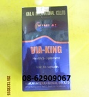 Tp. Hồ Chí Minh: Bán VIA KING-Tăng sinh lý, sức đề kháng , bồi bổ cơ thể tốt CL1703064