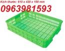 Tp. Hà Nội: thùng nhựa, ro nhua rong, khay nhua rong, sot nhua trai cay, thung dung thuc pham, CL1703156