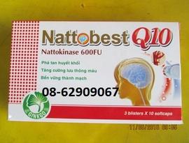 NATTOBEST Q10- Tan máu đông, ngừa tai biến, tăng trí nhớ- hiệu quả tốt
