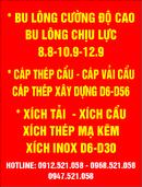 Tp. Hà Nội: 0968. 521. 058 Thanh ren vuông (Ty ren vuông) - Đai treo ống bán Hà Nội CL1703281