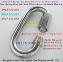 Tp. Hà Nội: Khoá nối xích thép mạ kẽm M6 bán Hà Nội 0912. 521. 058 Quick Link Inox D6 CL1703281
