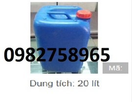 thung dung hoa chat, can nhua vuong 25l, can nhua tron 30l, can nhua gia re,