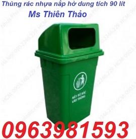 thung rac dap chan, thung rac composite, thung rac cong cong, thung rac nhua hdpe,