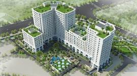 Phối cảnh Eco city Việt Hưng