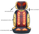 Tp. Hà Nội: Ghế massage chính hãng Nhật Bản 30 bi mát xa hiệu quả, gối mát xa hồng ngoại Nhật CAT17_132_193