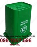Tp. Hà Nội: thung rac 90l nap ho, thung rac nhua, thung rac gia re, thung rac 80lit, thung rac CL1703379
