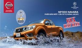 Mua Nissan Navara, nhận ngay nắp thùng trị giá 30 triệu và 25 triệu tiền mặt