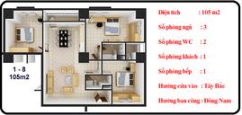 Bán chung cư VC7 Housing Complex- 136 HTM giá 20tr, dt 105m
