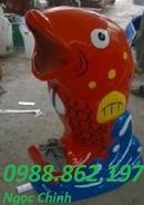 Tp. Hà Nội: thung rac con vat, thung rac gia re, thung rac hinh thu, thung rac 240lit, thung rac CL1703156