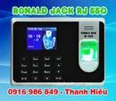 Tp. Hồ Chí Minh: máy chấm công vân tay Ronald jack RJ-550 CL1701307