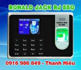 máy chấm công vân tay Ronald jack RJ-550