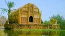 Những ngôi nhà lau sậy hùng vĩ trên đầm lầy miền Nam Iraq NEWS10398
