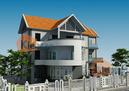 Tư vấn kiến trúc biệt thự 2,5 tầng hướng Tây Nam RSN3375