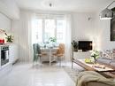 Ấn tượng với cách bài trí độc đáo của căn hộ 40 mét vuông màu trắng RSN3332