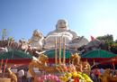 Tượng Phật Di Lặc lớn nhất châu Á trên núi Cấm NEWS15960