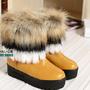 [12] Ấm áp ngày lạnh với boot cổ lông
