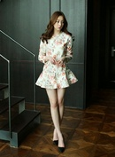 Váy đẹp cho nữ công sở ưa vẻ kín đáo RSN3216