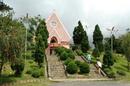 Nhà thờ độc đáo trên đồi mai anh đào Đà Lạt RSN3216