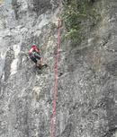 Đường leo núi bán nhân tạo được mở tại cửa hang Tối NCAT16_24