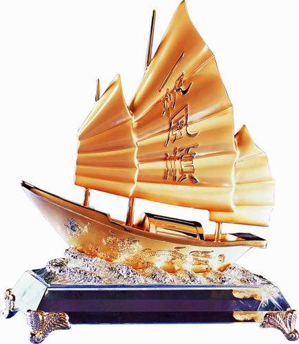 Thuyen Phong Thuy Trí Vật Phẩm Phong Thủy